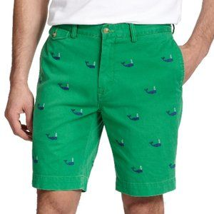Polo Ralph Lauren Embroidered Whale Chino shorts